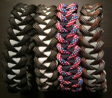 Paracord Survival Bracelet Piranha Weave USA CUSTOM MADE TJParacord