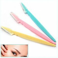 3PCS Women Tinkle Face & Eyebrow Hair Removal Safety Razor Trimmer Shaper Shaver