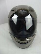 Harley Davidson Chrome Full Face Helmet Sz XS EUC