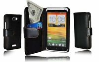 New High Quality HTC One X PU Leather Wallet Case Cover
