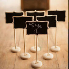 1pc Mini Blackboard Chalkboard on the stick Place holder For Wedding Party Decor