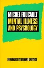 NEW - Mental Illness and Psychology by Foucault, Michel