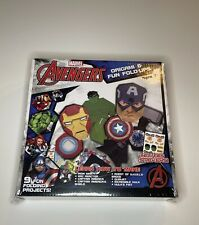 Marvel Avengers Origami & Fun Fold-ups 9 Fun Projects Includes Stickers Ages 7+