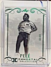 Pele 2016 Leaf Immortal Collection GREEN SPECTRUM Parallel #'d 10/20