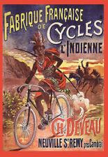 Bicycle Bike Fabrique Française de Cycle LIndienne Deco  Poster Print
