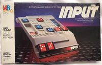 Vintage Sealed Input Strategy Board Game Milton Bradley MB 1984