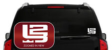 LeBron James L 23 Vinyl Decal Sticker Basketball CLEVELAND CAVS Laptop