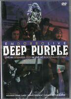 Deep Purple Em Dobro DVD Live In Denmark 1972 & Live At Rockpalast 1985