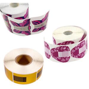 Modellier Schablonen Nagel Schablone Nagelverlängerung für Gel-Acryl