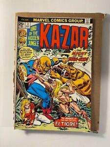Lord of the Hidden Jungle Ka-Zar #3 Bronze Age Marvel Series I combine Shipping!