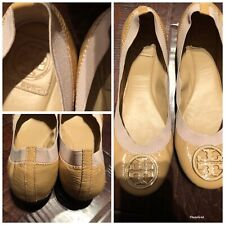 Tory Burch Patent Leather Ballet Flats sz 8