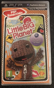 SONY PSP - LittleBigPlanet - NICE CONDITION W/ MANUAL - FREEPOST