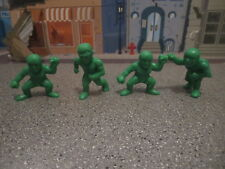 LOT OF GREEN MR MUSCLE LIKE wrestling  ACTION FIGURES