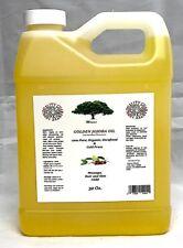 ORGANIC JOJOBA BEST CARRIER OIL COLD PRESSED PURE MASSAGE 32 Oz. Natural PURE