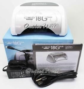 Brand New GELISH HARMONY 18G PLUS LED Gel Light Lamp Dryer Pro 18 G UK AU EU