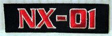 """Star Trek Enterprise NX-01 Logo  3.5"""" Uniform Patch- FREE S&H (STPAT-0052)"""