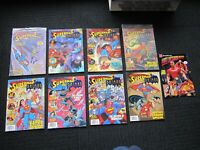 Superman & Batman Magazine set - 1993 #1 to #8, 1st animated adventures