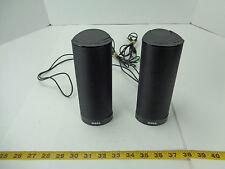 "Dell Computer Speaker AX210 PC Laptop 2 Speakers USB Powered Black 7"" Tall T"