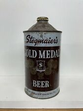 Stegmaier's Gold Medal Beer Quart Cone Top Beer Can #210-08 Better than book can