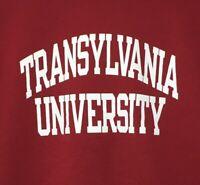 Champion Transylvania University Pioneers Mens Medium Red Sweatshirt Pullover