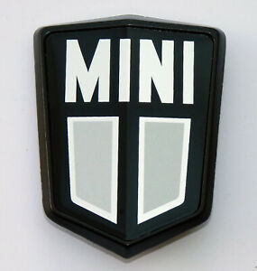 British Made Classic Austin Mini Bonnet Shield Badge, BMC CZH4378