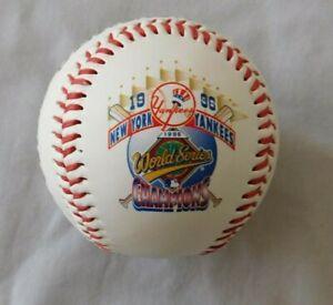 1996 New York Yankees World Series Champions Fotoball