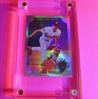 1998 Donruss Collections LEAF #309 Omar Vizquel PRIZED Refractor MINT
