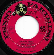 DANIEL BOONE - BEAUTIFUL SUNDAY / TRULY JULIE - ORIGINAL 70s POP ROCK - 1972