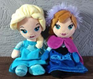 Disney Frozen Elsa & Anna Posh Paws Mini Plush Soft Toys
