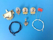Strat Guitar Wiring Kit Push Pull 7 Sound Mod Coil Tap