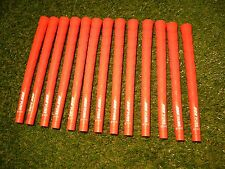 13 x PURE DTX Orange Golf Grips Standard Size **NEW**