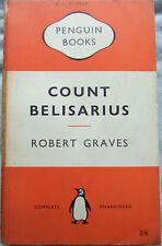 Count Belisarius - Robert Graves; Paperback Book (Penguin - 1954)