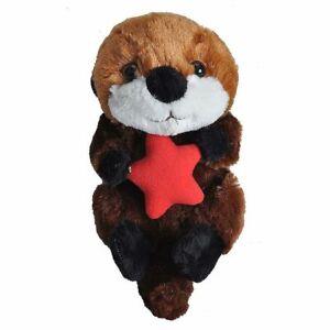 "Hug'ems Sea Otter stuffed animal Hugems soft plush toy 7""/17cm Wild Republic NEW"