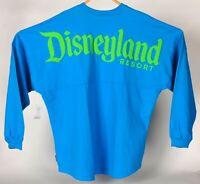 Disney Parks Disneyland Resort Spirit Jersey Neon Blue Adult 2XL NEW with Tag