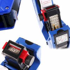Premium 8 Digital Price Tag Gun Label Labeller Sticker Roller 22x12Mm