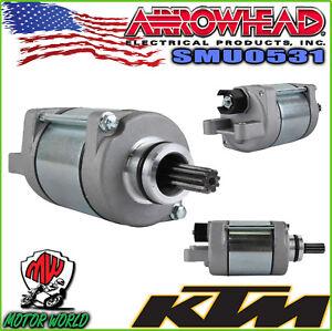 SMU0531 MOTORINO AVVIAMENTO ARROWHEAD KTM 350 EXC-F Six Days 2012 2013 2014 2015