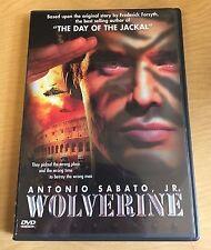 Wolverine Motion Picture DVD 1998 Antonio Sabato, Jr. Action Adventure War