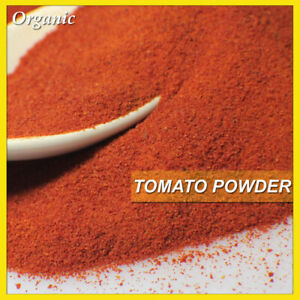 ORGANIC Tomato Powder 100% Pure Natural Ripe Tomatoes Premium Ground FREE POST