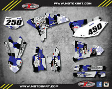 Full  Custom Graphic Kit NITRO STYLE Yamaha WR 450  F - 2012-2015 stickers