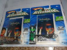2 LOT Hot Wheels AcceleRacers Metal Maniacs Jack Hammer #9 of 9 & RD-06  6 of 9