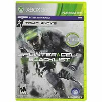 Tom Clancy's Splinter Cell Blacklist For Xbox 360 Shooter Game Only 7E