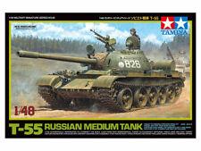 Tamiya America Inc 1/48 Russian Medium Tank T-55 Tam32598