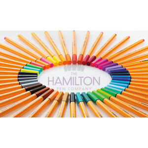 STABILO POINT 88 FINELINER PEN - Now 47 vibrant colours available with 0.4mm tip