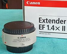 Canon Extender EF 1.4x II Lens Extender - EOS DIGITAL - SHARP  PERFECT CONDITION