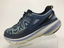 Hoka One One Bondi 4 Road Running Shoes Purple Training Sneakers Womens Size 9.5