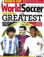 World Soccer Magazine The Greatest Players Of All Time Top Manager Neymar 2013