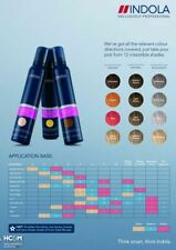 Indola Professional Hair Coloured Mousse Temporary Colour All Shades