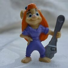 1991 Chip n Dale Rescue Rangers Gadget Figure Disney Kellogg's Cereal Box Toy
