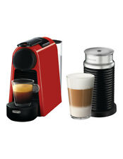 NEW by Delonghi Essenza Mini & Milk capsule coffee machine: EN85RAE Red