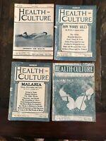 Vintage Health Culture Magazines Lot 4 1907 June July Sept Oct Ephemera Health